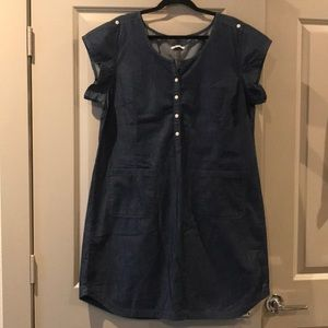 Gap denim dress with pockets